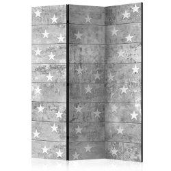 Paraván - Stars on Concrete [Room Dividers] 3 részes  135x172 cm
