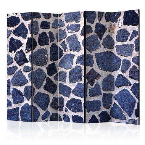 Paraván - Blue Summer II [Room Dividers] 5 részes 225x172 cm  -  ajandekpont.hu