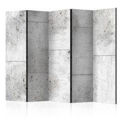 Paraván - Concretum murum II [Room Dividers] 5 részes 225x172 cm