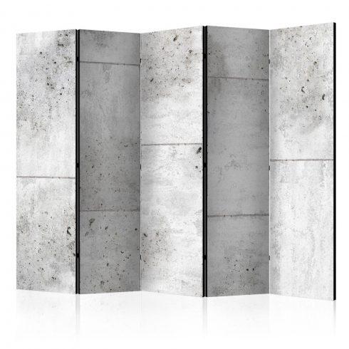 Paraván - Concretum murum II [Room Dividers] 5 részes 225x172 cm  -  ajandekpont.hu