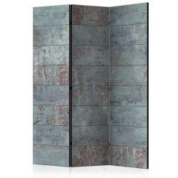 Paraván - Turquoise Concrete [Room Dividers] 3 részes  135x172 cm
