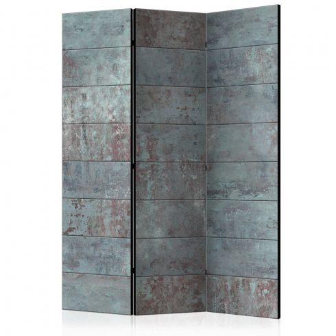 Paraván - Turquoise Concrete [Room Dividers] 3 részes  135x172 cm  -  ajandekpont.hu