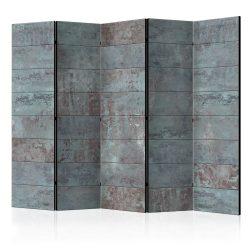 Paraván - Turquoise Concrete II [Room Dividers] 5 részes 225x172 cm