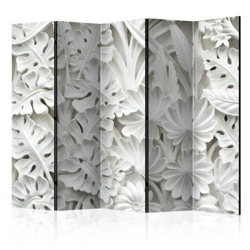 Paraván - Alabaster Garden II [Room Dividers] 5 részes 225x172 cm  -  ajandekpont.hu