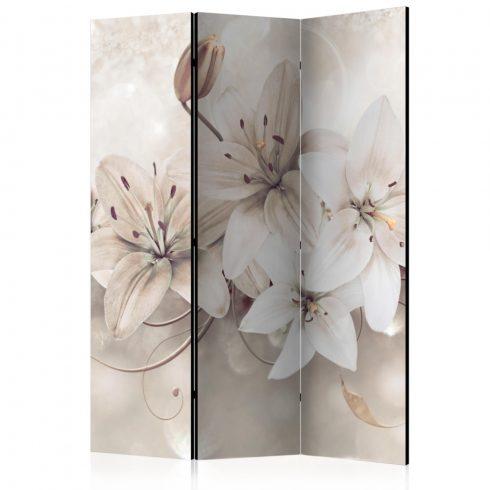 Paraván - Diamond Lilies [Room Dividers] 3 részes  135x172 cm  -  ajandekpont.hu