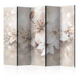 Paraván - Diamond Lilies II [Room Dividers] 5 részes 225x172 cm