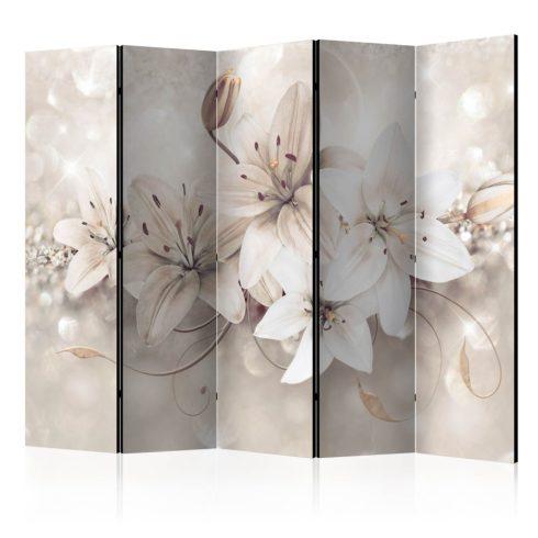Paraván - Diamond Lilies II [Room Dividers] 5 részes 225x172 cm  -  ajandekpont.hu