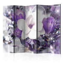 Paraván - Purple Empress II [Room Dividers] 5 részes 225x172 cm