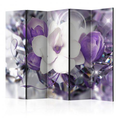 Paraván - Purple Empress II [Room Dividers] 5 részes 225x172 cm  -  ajandekpont.hu