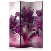 Paraván - The Purple Flame [Room Dividers] 3 részes  135x172 cm