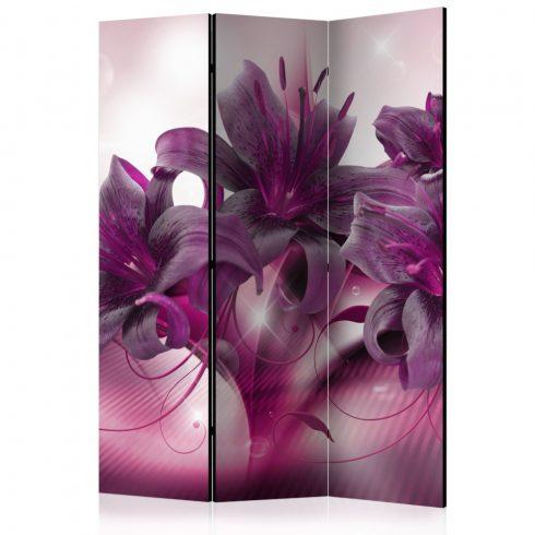 Paraván - The Purple Flame [Room Dividers] 3 részes  135x172 cm  -  ajandekpont.hu