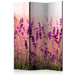 Paraván - Lavender in the Rain [Room Dividers] 3 részes  135x172 cm  -  ajandekpont.hu