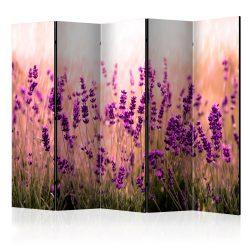Paraván - Lavender in the Rain II [Room Dividers] 5 részes 225x172 cm