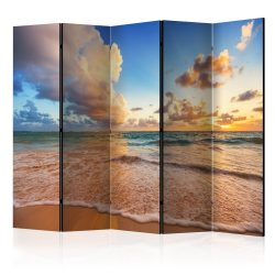 Paraván - Morning by the Sea II [Room Dividers] 5 részes 225x172 cm
