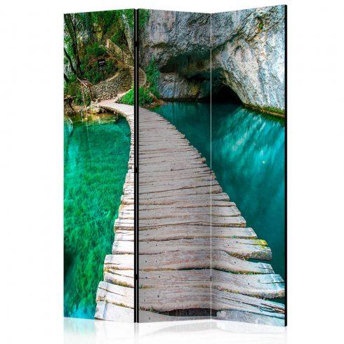 Paraván - Emerald Lake [Room Dividers] 3 részes  135x172 cm  -  ajandekpont.hu