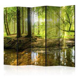 Paraván - Forest Lake II [Room Dividers] 5 részes 225x172 cm