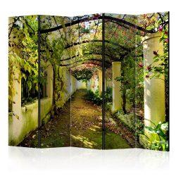 Paraván - Romantic Garden II [Room Dividers] 5 részes 225x172 cm