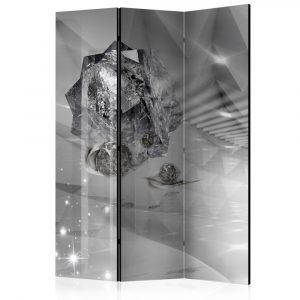 Paraván -  Abstract Greyness [Room Dividers] 3 részes  135x172 cm