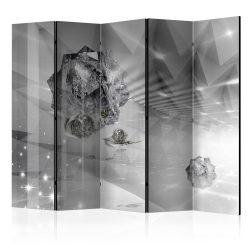 Paraván - Abstract Greyness II [Room Dividers] 5 részes 225x172 cm