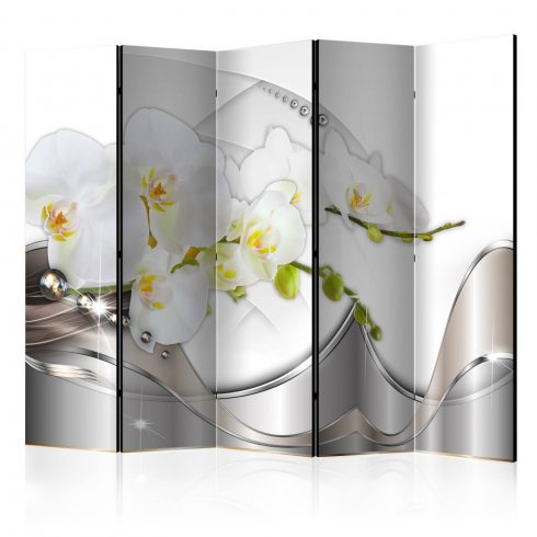 Paraván - Pearl Dance of Orchids II [Room Dividers] 5 részes 225x172 cm  -  ajandekpont.hu