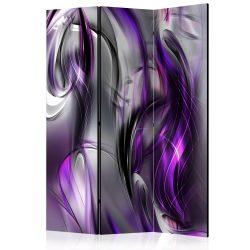 Paraván - Purple Swirls [Room Dividers] 3 részes  135x172 cm  -  ajandekpont.hu