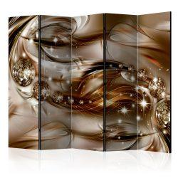 Paraván - Chocolate Tide II [Room Dividers] 5 részes 225x172 cm