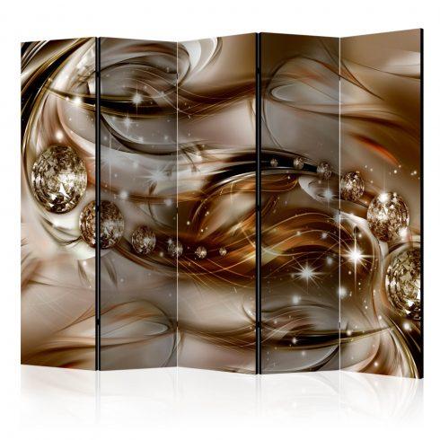 Paraván - Chocolate Tide II [Room Dividers] 5 részes 225x172 cm  -  ajandekpont.hu