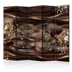 Paraván - Chocolate River II [Room Dividers] 5 részes 225x172 cm
