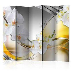 Paraván - Yellow Journey II [Room Dividers] 5 részes 225x172 cm