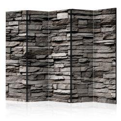 Paraván - Stony Facade II [Room Dividers] 5 részes 225x172 cm
