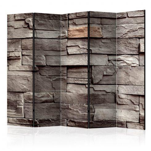 Paraván - Wall of Silence II [Room Dividers] 5 részes 225x172 cm  -  ajandekpont.hu