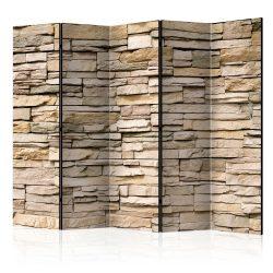 Paraván - Decorative Stone II [Room Dividers] 5 részes 225x172 cm