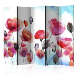 Paraván - Swaying with the Wind II [Room Dividers] 5 részes 225x172 cm