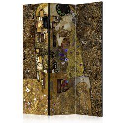 Paraván - Golden Kiss [Room Dividers] 3 részes  135x172 cm