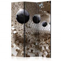 Paraván - Golden Jigsaw [Room Dividers] 3 részes  135x172 cm  -  ajandekpont.hu