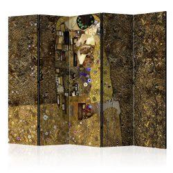 Paraván - Golden Kiss II [Room Dividers] 5 részes 225x172 cm