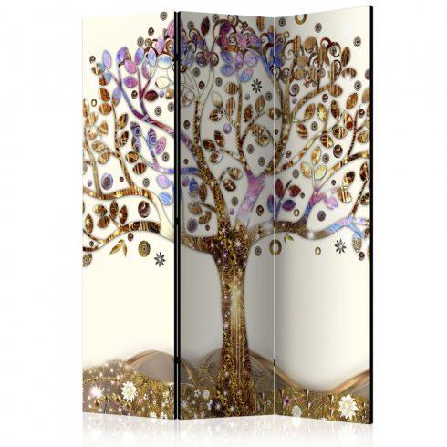 Paraván - Golden Tree [Room Dividers] 3 részes  135x172 cm  -  ajandekpont.hu