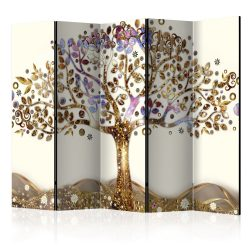 Paraván - Golden Tree II [Room Dividers] 5 részes 225x172 cm