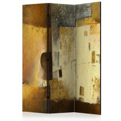 Paraván - Golden Oddity [Room Dividers] 3 részes  135x172 cm