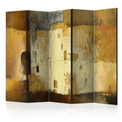 Paraván - Golden Oddity II [Room Dividers] 5 részes 225x172 cm