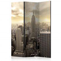 Paraván - Light of New York [Room Dividers] 3 részes  135x172 cm