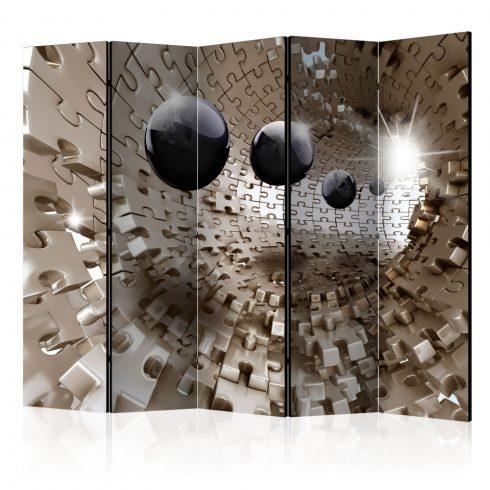 Paraván - Golden Jigsaw II [Room Dividers] 5 részes 225x172 cm  -  ajandekpont.hu