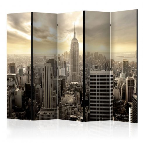 Paraván - Light of New York II [Room Dividers] 5 részes 225x172 cm  -  ajandekpont.hu