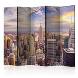 Paraván - New York Morning II [Room Dividers] 5 részes 225x172 cm