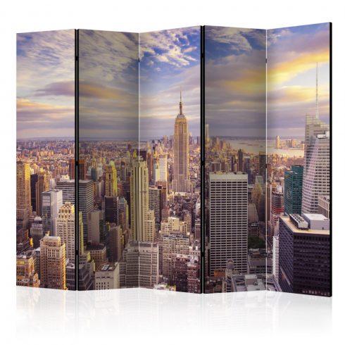 Paraván - New York Morning II [Room Dividers] 5 részes 225x172 cm  -  ajandekpont.hu
