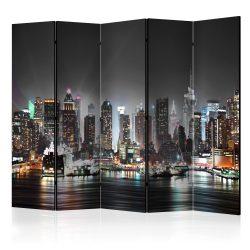 Paraván - New York II [Room Dividers] 5 részes 225x172 cm