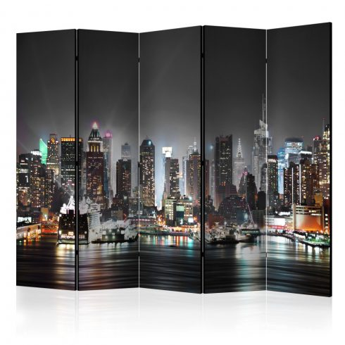 Paraván - New York II [Room Dividers] 5 részes 225x172 cm  -  ajandekpont.hu
