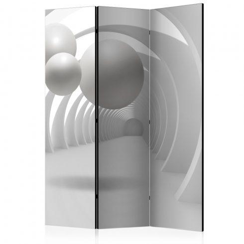 Paraván - White Tunnel [Room Dividers] 3 részes  135x172 cm  -  ajandekpont.hu