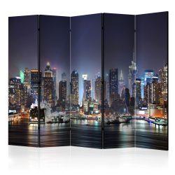 Paraván - Night Port II [Room Dividers] 5 részes 225x172 cm