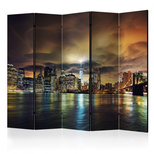 Paraván - New York Sky II [Room Dividers] 5 részes 225x172 cm  -  ajandekpont.hu